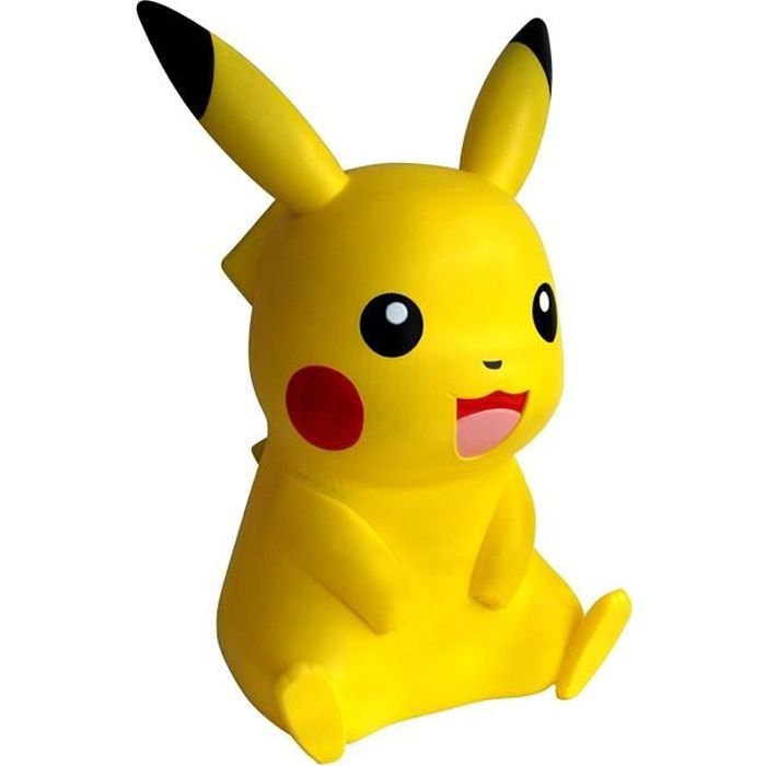 POKEMON Figurine Lumineuse Pikachu 40 cm - Lampe Veilleuse enfant