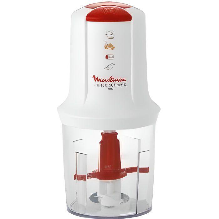 Moulinex AT710131 Mini Hachoir Électrique Multi Moulinette 3 en 1 Hacher Mixer E