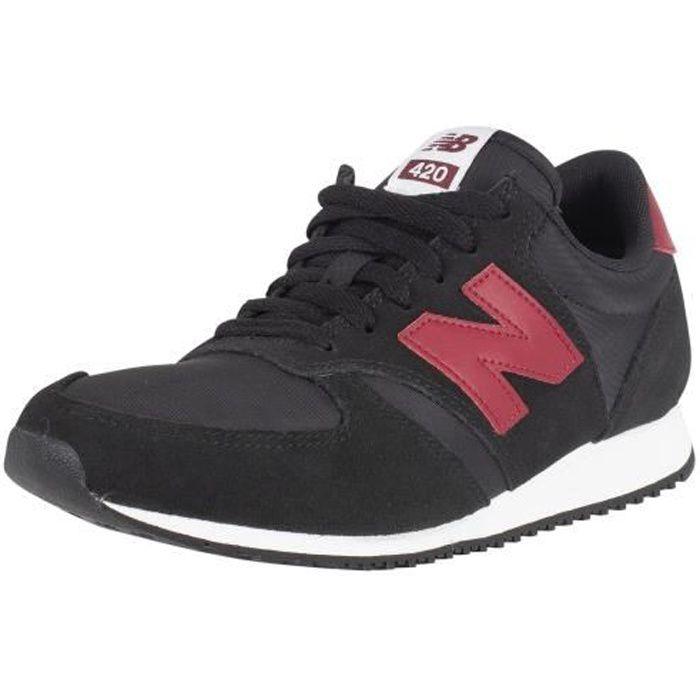 New Balance Homme 420 trainers en daim, Noir