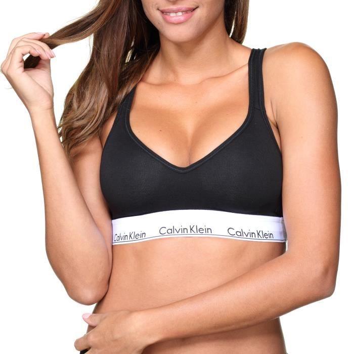 Brassiere femme Calvin Klein Qf1654e Bralette L...