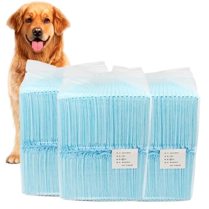 40 pièces de matelas à langer pour animaux de compagnie, matelas à langer pour chiots absorbant la transpiration et désodorisants