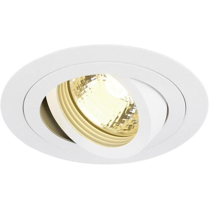 SLV Luminaire à encastrer New Tria 113510 GU10