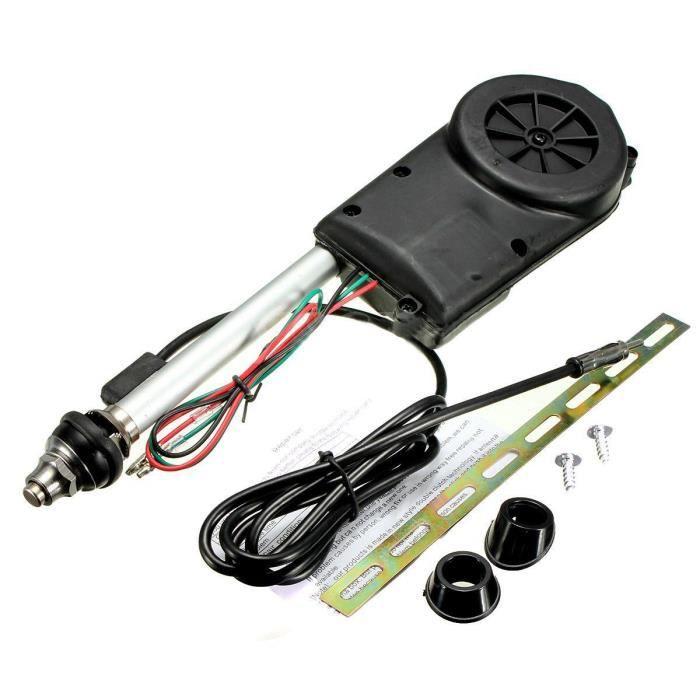 Booster de puissance de voiture electrique aerienne Radio Antenne automatique Kit Noir