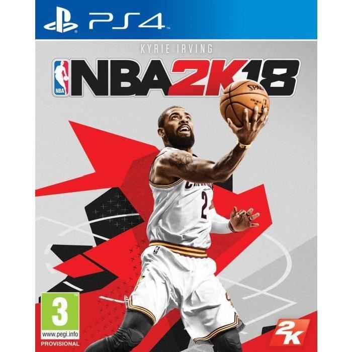 NBA 2K18 Jeu PS4 + 2 LED Light Bar Skin OFFERT