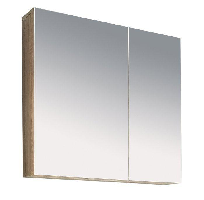 PORTO - Armoire de toilette - blanc - 65 / 70 / 21