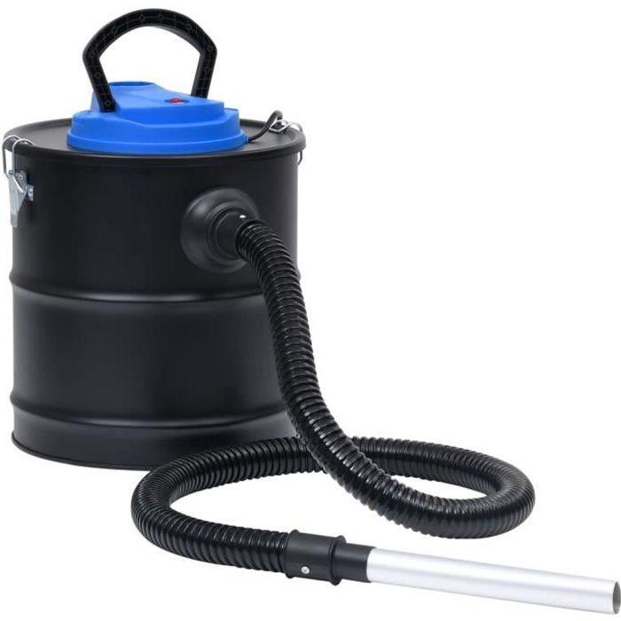 Aspirateur à cendres avec filtre HEPA 1200 W 20 L Acier HB007