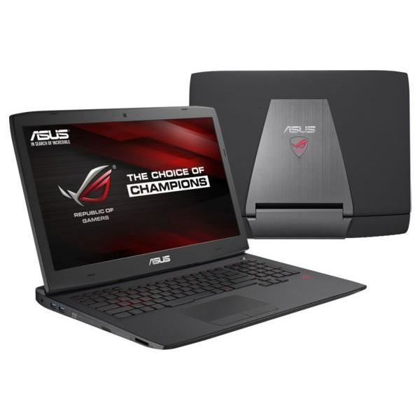ordinateur portable asus rog g751jy t7036h prix pas cher soldes cdiscount. Black Bedroom Furniture Sets. Home Design Ideas