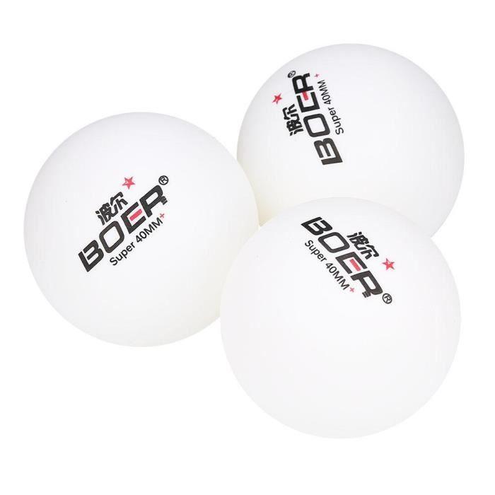 Dunlop Pro Tour 2 Star Balles de tennis de table-Boîte de 3 couleur blanc NEUF