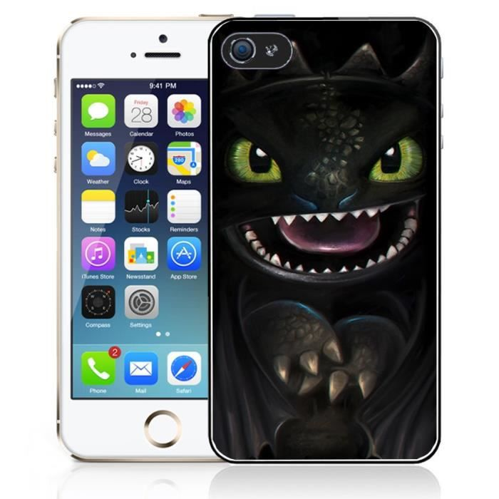 Coque iPhone 4-4S Dragons - Krokmou