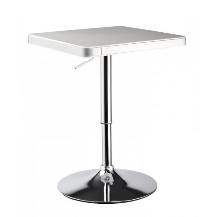 Table de bar bistrot hauteur r glable 2009010 achat vente mange debout table de bar bistrot - Table de salon reglable en hauteur ...