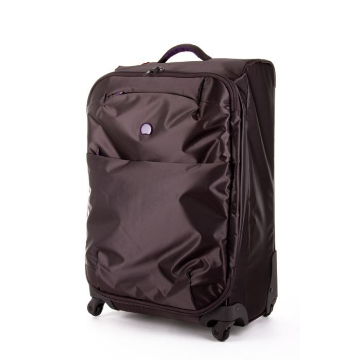 delsey valise souple for once 78cm ardoise violet achat. Black Bedroom Furniture Sets. Home Design Ideas