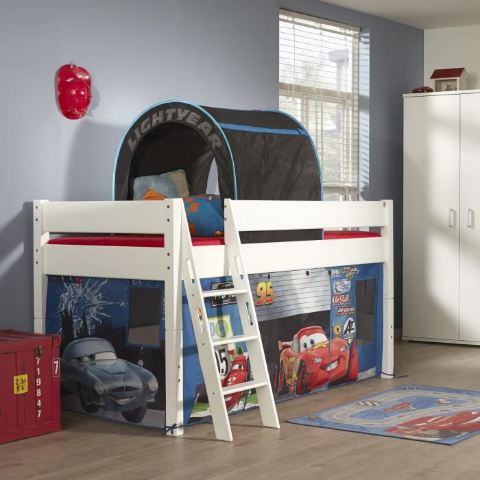 lit mi hauteur pour enfant design cars achat vente. Black Bedroom Furniture Sets. Home Design Ideas