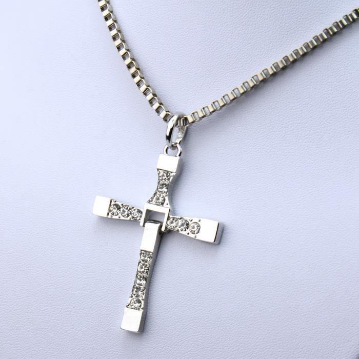 croix pour collier homme