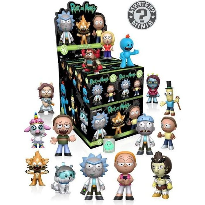 FIGURINE - PERSONNAGE Funko - Mystery Mini Blind Box: Rick And Morty