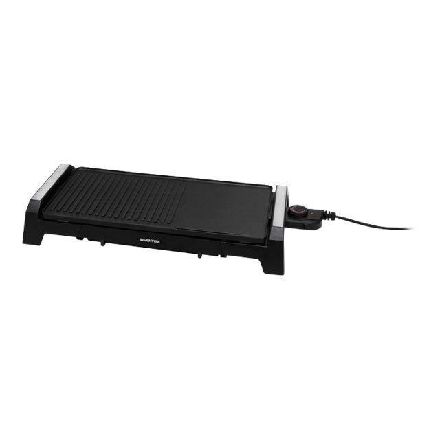 GRILL ÉLECTRIQUE Inventum Plaque grill Noir 2200 W GP510