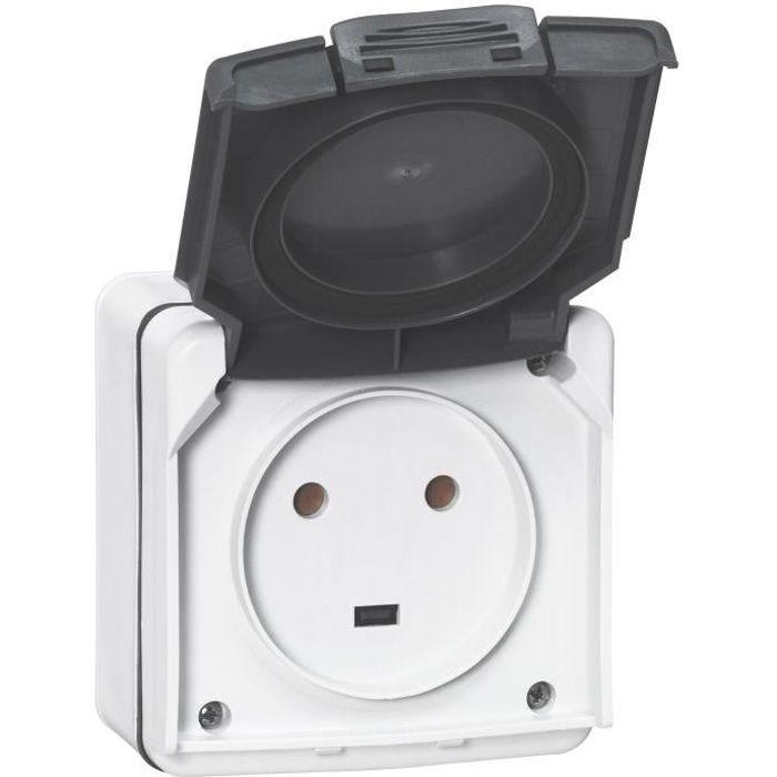 Power Prise de courant avec plaque de montage 16//20a Boîte Prise de Courant Adaptateur