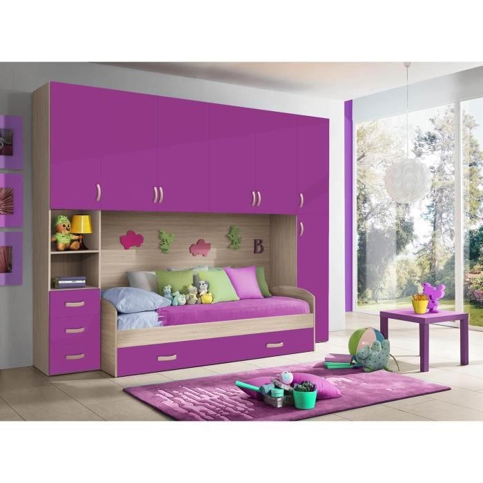 Chambre d 39 enfant compl te hurra combin lit pont d cor for Photo chambre d enfant