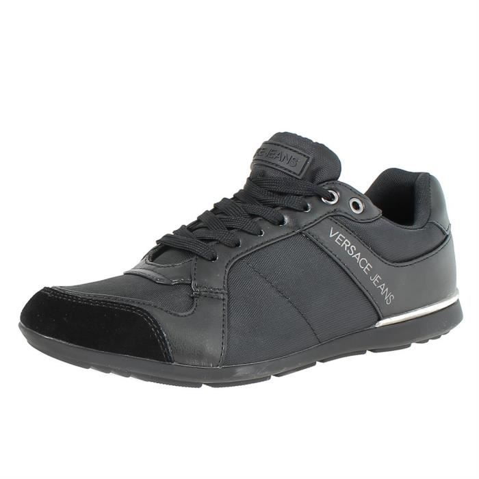 65f4acf25e2 Chaussures a lacets linea tommy homme versace jeans e0yqbsf3 Noir ...