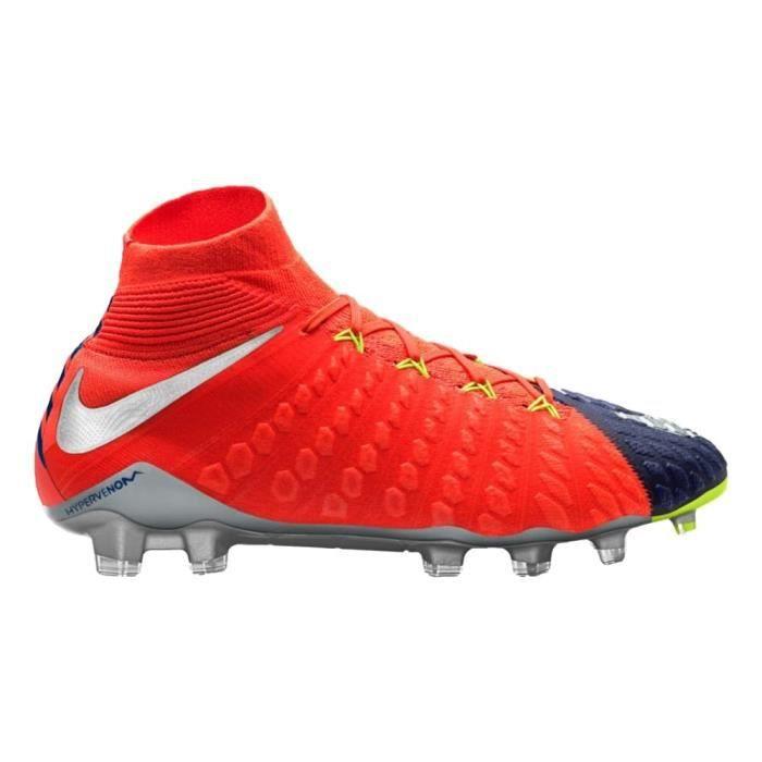 on feet shots of quality new specials Nike Hypervenom Phantom Iii Dynamic Fit Fg Crampons de soccer CDTOZ 42