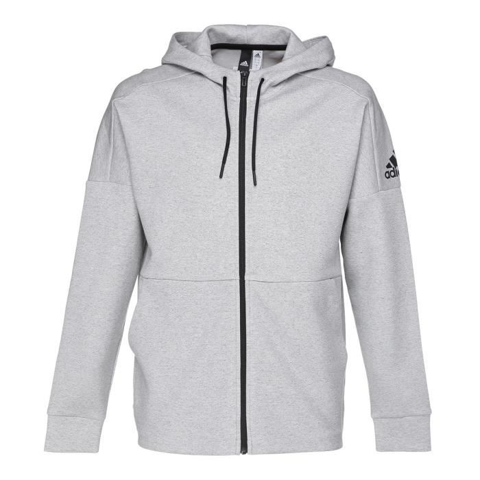 sweat zippe homme adidas