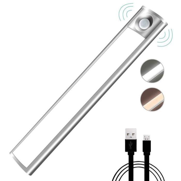 armoire lumière armoire lumière avec batterie rechargeable 33 Capteur de mouvement lumière