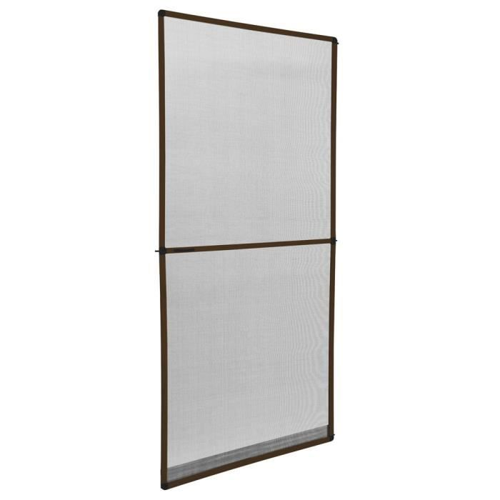 Decoration Porte Aluminium Of Moustiquaire Porte Ajustable 95x210cm Aluminium Achat
