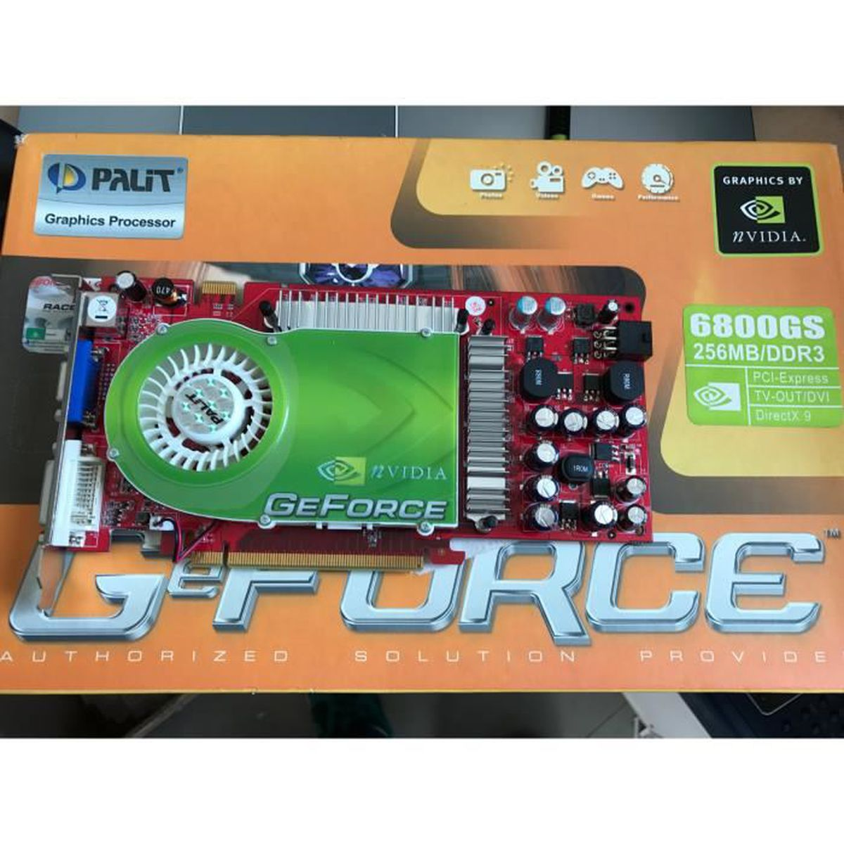 carte graphique nvidia geforce 6800