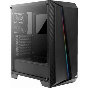BOITIER PC  AEROCOOL Cylon PRO (RGB) Noir TG (Verre trempé) -