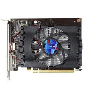 CARTE GRAPHIQUE INTERNE Yeston GT1030 GPU Geforce Fan 2G GDDR5 64bit 4K Ga