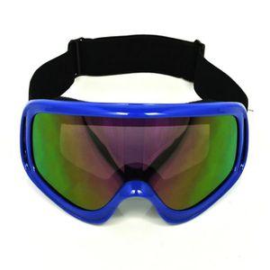 LUNETTES - MASQUE Lunettes Protection Moto Motocross Ski Anti-brouil