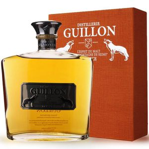 WHISKY BOURBON SCOTCH Guillon finition Puligny Montrachet 70cl - Etui -