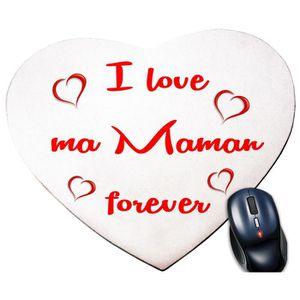 TAPIS DE SOURIS TAPIS DE SOURIS I LOVE MA MAMAN FOREVER