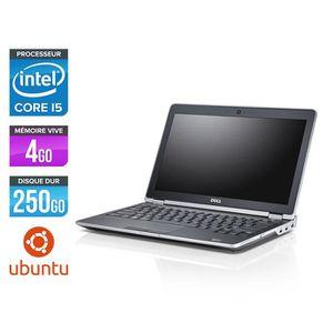 PC RECONDITIONNÉ Pc portable Dell E6230 - i5 - 4Go - 250 Go HDD - L