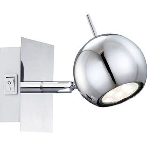 APPLIQUE  GLOBO Applique chrome LED L14,5 x l10 x h10 cm