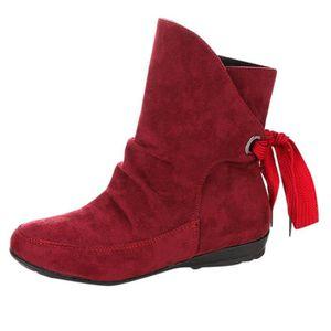 BOTTE Femmes Chaussures pour femmes lacent Boucle romain