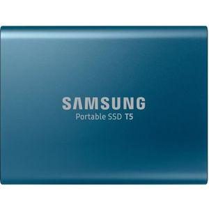 DISQUE DUR EXTERNE SAMSUNG - Disque SSD Externe - T5 - 250Go - USB 3.