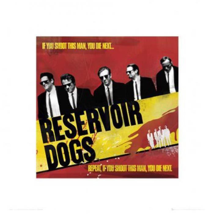reservoir dogs posters achat vente pas cher. Black Bedroom Furniture Sets. Home Design Ideas