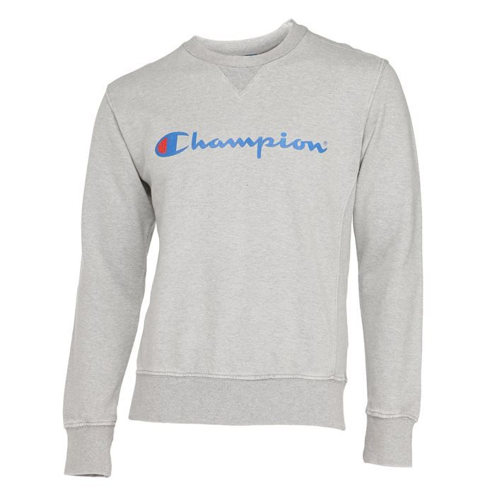 champion sweat homme gris chin achat vente sweatshirt champion sweat homme cdiscount. Black Bedroom Furniture Sets. Home Design Ideas