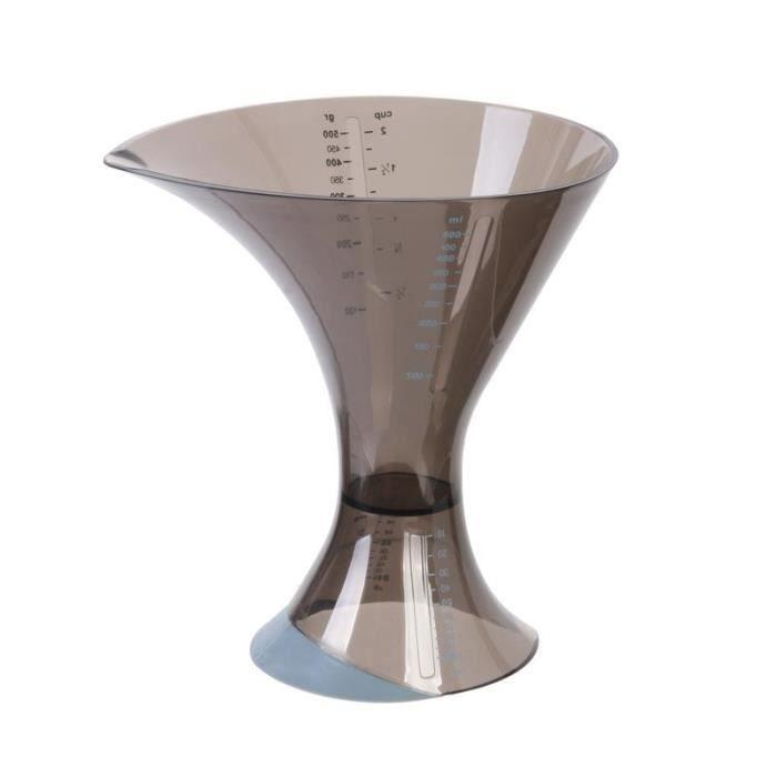 Accessoires de patisserie - Double verre doseur design 18 cm