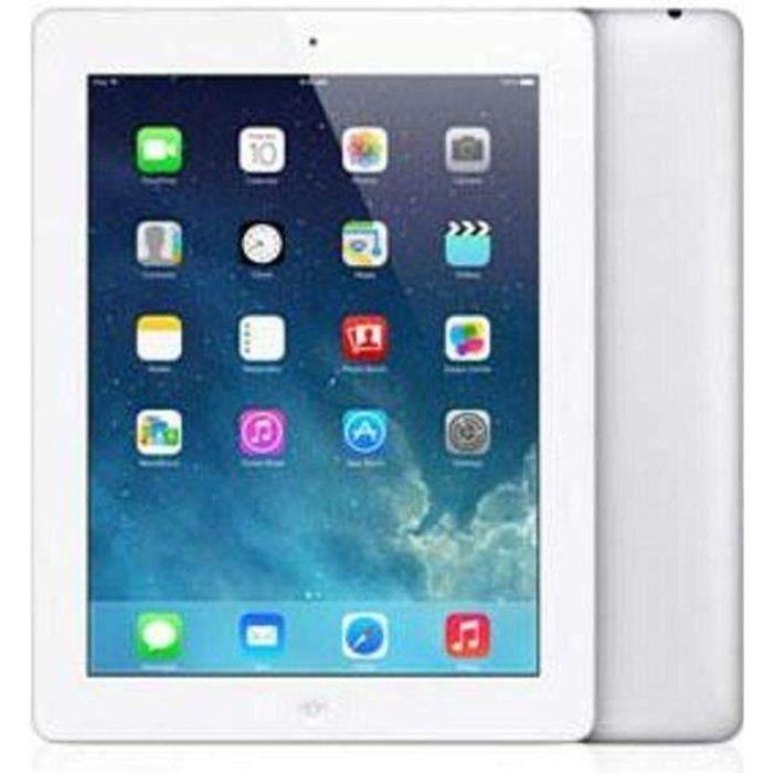 Apple iPad 4 Wi-Fi16 Go Blanc  -  Tablette iPad iPad4...