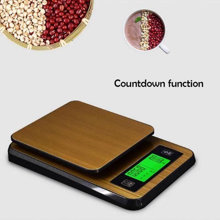 Balance de cuisine de haute précision avec interface USB