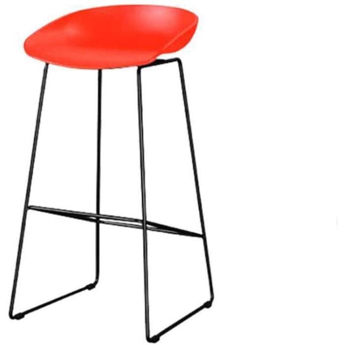 TABOURET DE BAR Chaise de Salle &agrave Manger Tabouret de Bar tabourets en Fer forg&eacute Chaise de Bar caf&eacute Dossier 913