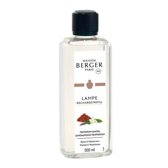 lampe berger parfum santal tentation 500 ml