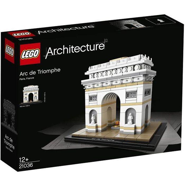 LEGO® Architecture 21036 L'Arc de Triomphe - 386 pièces