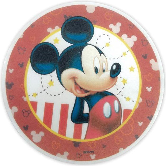 Disque Azyme Décoration Gateau Mickey 20 cm - Scrapcooking Multicolore - Assort.