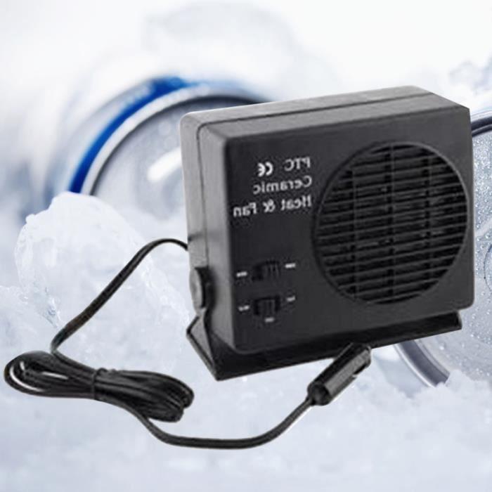 12V 150W électrique Portable chauffage de voiture ventilateur pare-brise Windows dégivreur antibuée avec BALAI - RACLETTE VOITURE
