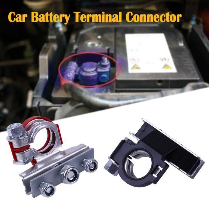 NEUF Paire de 2 cosses de batterie Connecteurs serrage borne 12v 24v auto moto