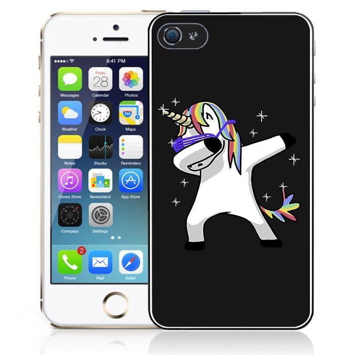 coque iphone 4 4s licorne dab