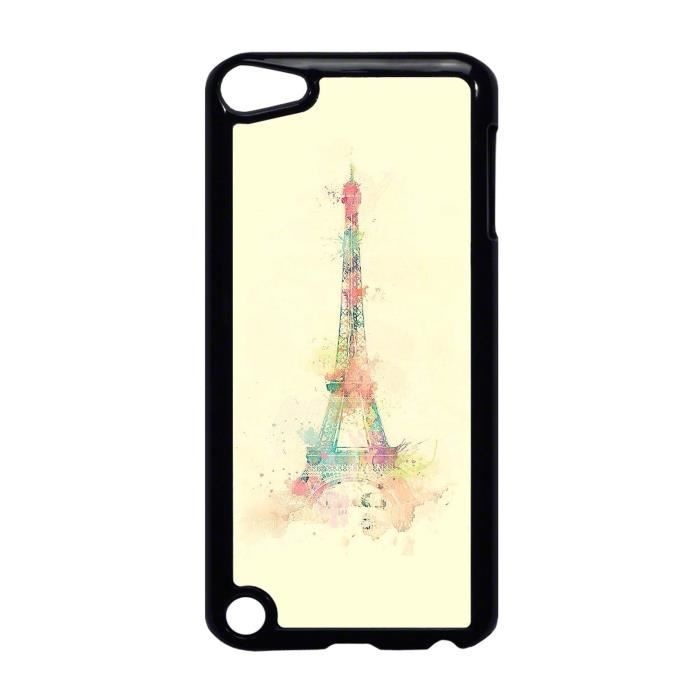 coque ipod touch 5 tour eiffel eclat de peinture tendance ref 636 coque mp3 mp4 avis et. Black Bedroom Furniture Sets. Home Design Ideas