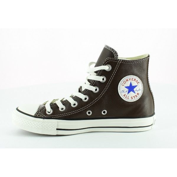 basket converse ct all star leat homme marron achat. Black Bedroom Furniture Sets. Home Design Ideas